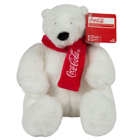 "Coca-Cola® 8"" Plush Scarf Bear"