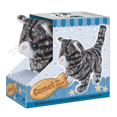 Comet the Kitten - Battery Operated Animatronic Pet