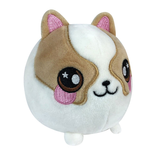 "Squeezamals Pet Series - Dax the Dog 3.5"" Plush"