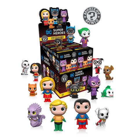Mystery Minis Blind Box: DC Super Heroes/Villains + Pets
