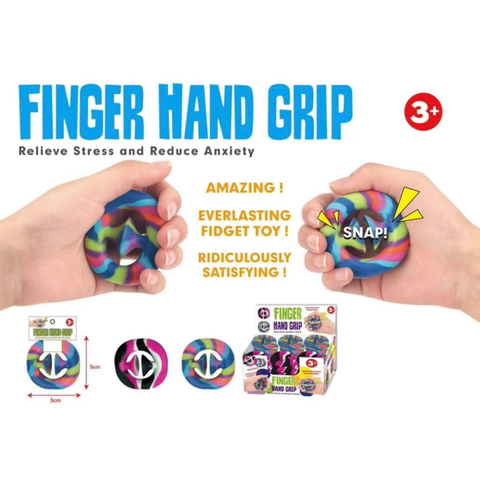Finger Hand Grip - Sensory Popping Toy