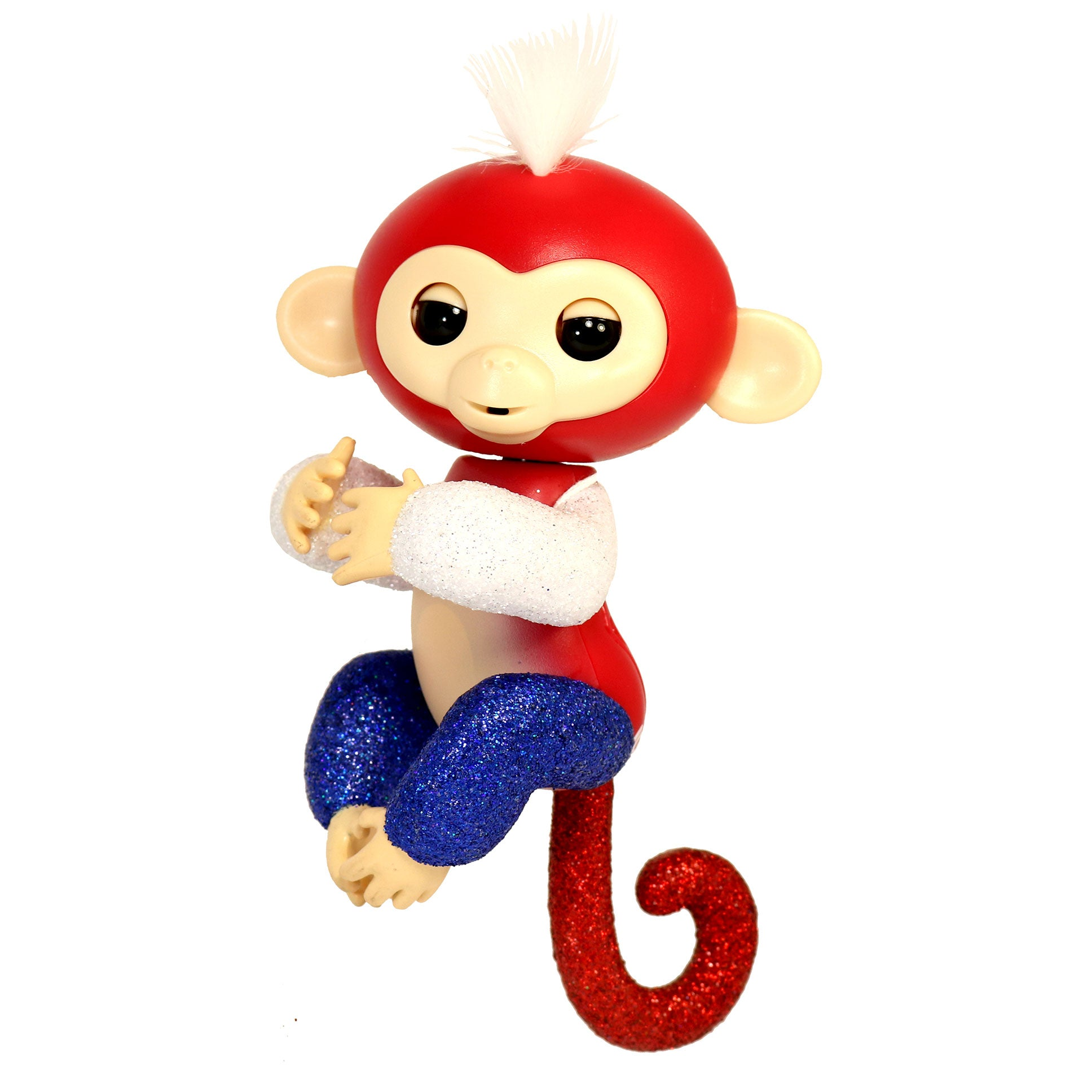 Fingerlings Interactive Glitter Baby Monkey Liberty