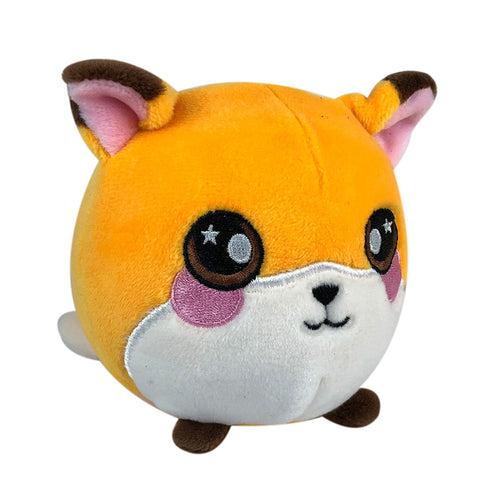 "Squeezamals Pet Series - Fiona the Fox 3.5"" Plush"