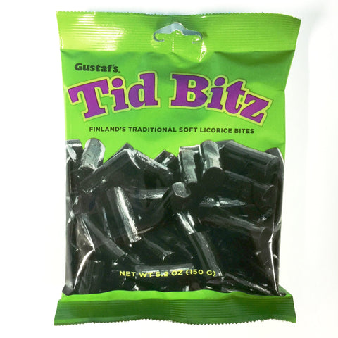 Finnish Licorice Tid Bitz 5.2 oz.