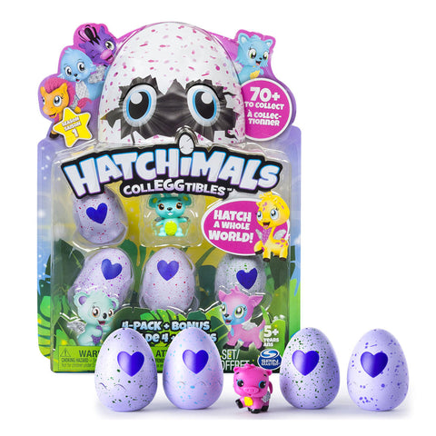 Hatchimals CollEGGtibles™ 4-Pack + Bonus
