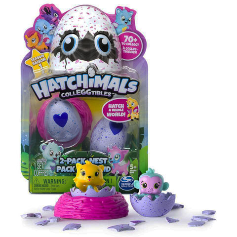 Hatchimals CollEGGtibles™ 2-Pack+Nest