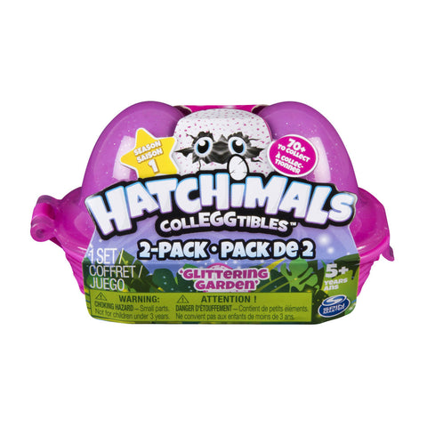 Hatchimals CollEGGtibles™ 2-Pack Egg Carton - Glittering Garden