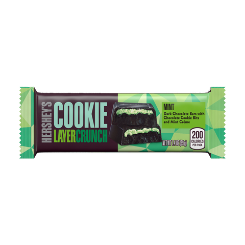 HERSHEY'S Cookie Layer Crunch - Mint (1.4 oz. Bar)