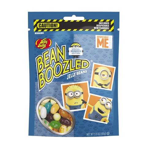 BeanBoozled Jelly Beans - 5.5 oz Pouch Bag (Minions Edition)