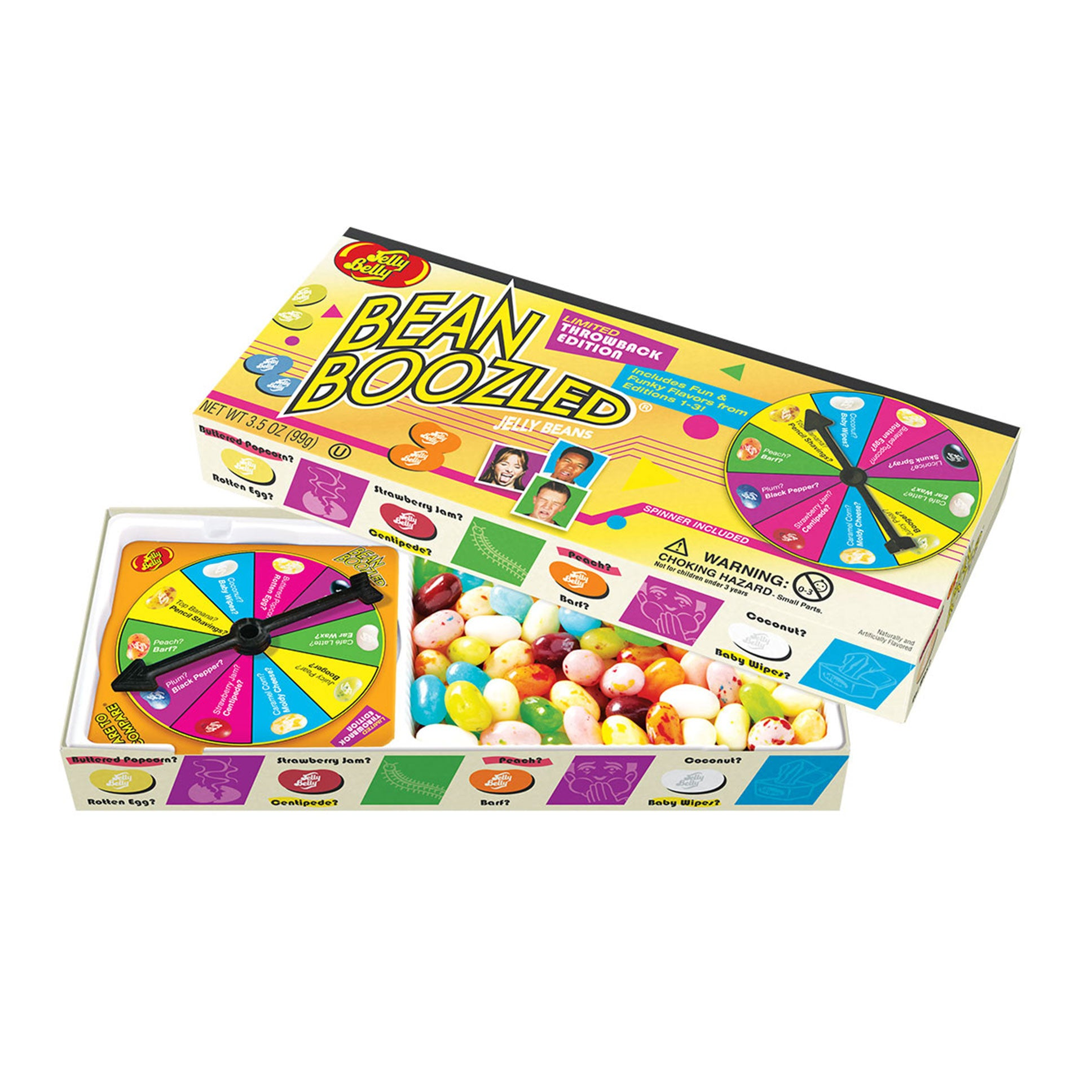 Well known BeanBoozled Jelly Belly Spinner Game – Snyder's Candy YK03