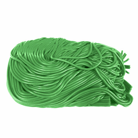 Dutch Licorice Laces - Green Apple