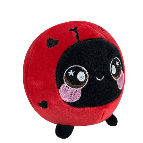 "Squeezamals Pet Series - Lulu the Ladybug 3.5"" Plush"