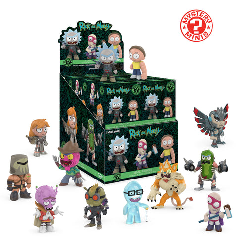 Funko Mystery Minis: Rick & Morty Series 2