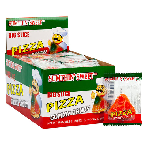 "Mini ""Big Slice"" Pizza Candy - Pack of 5 (2.2oz)"