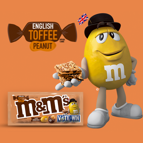 M&M's® English Toffee Peanut - 3.27 oz. Share Size