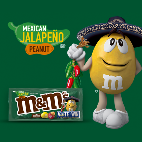 M&M's® Mexican Jalapeño Peanut - 3.27 oz. Share Size