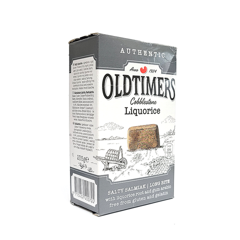 Authentic OldTimers - Cobblestone Licorice - Salty Salmiak - 9 oz.