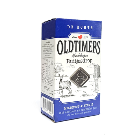 Authentic OldTimers - Hindelooper Daimond Licorice - Mildly Salty / Solid - 9 oz.