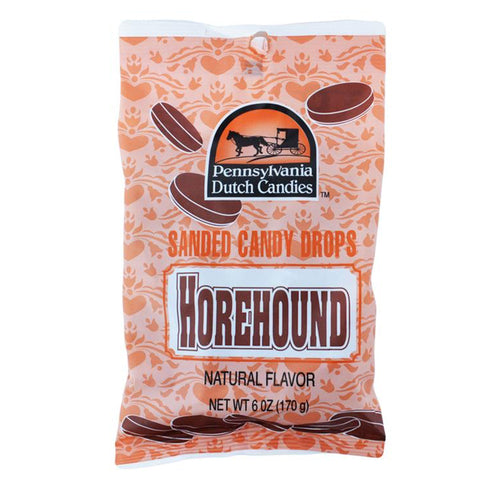 Pennsylvania Dutch Candies™ Sanded Candy Drops - Horehound