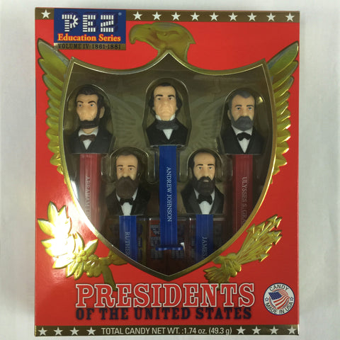 Pez® Presidents Vol. IV: 1861-1881