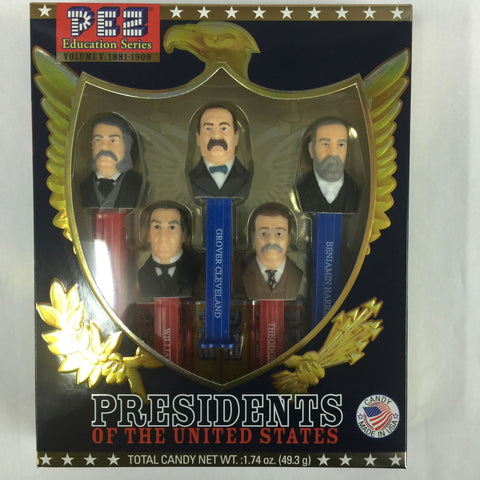 Pez® Presidents Vol. V: 1881-1909