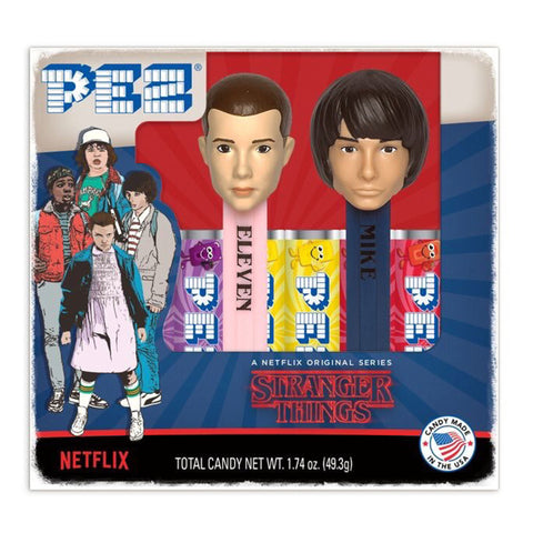 PEZ® Stranger Things: Twin Pack (Eleven & Mike)