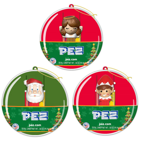 Holiday PEZ® Ornaments