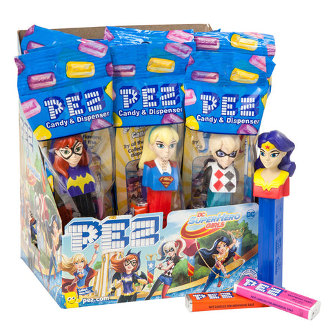 DC Girls PEZ® (Poly Bags)