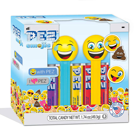 PEZ® Emoji: Twin Pack (Smiling & LOLing)