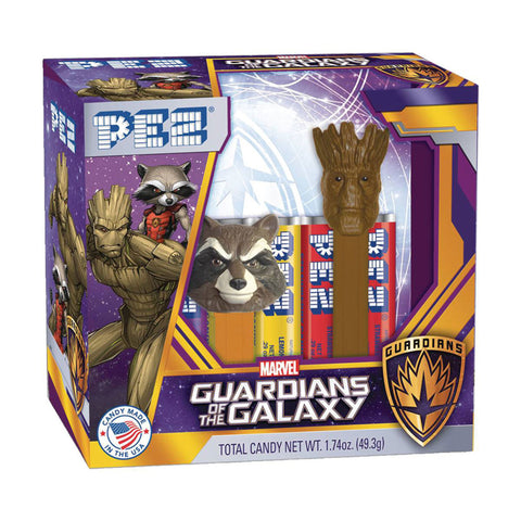 Guardians of the Galaxy Pez Set