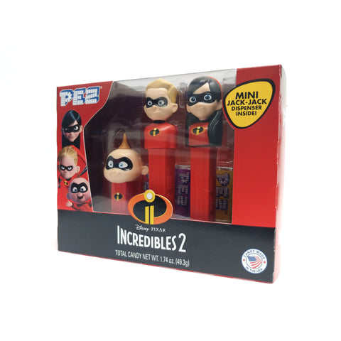 Disney・Pixar Incredibles 2 PEZ® Set