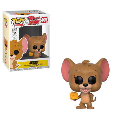Funko POP! Animation: Tom and Jerry - Jerry w/ Cheese Wedge