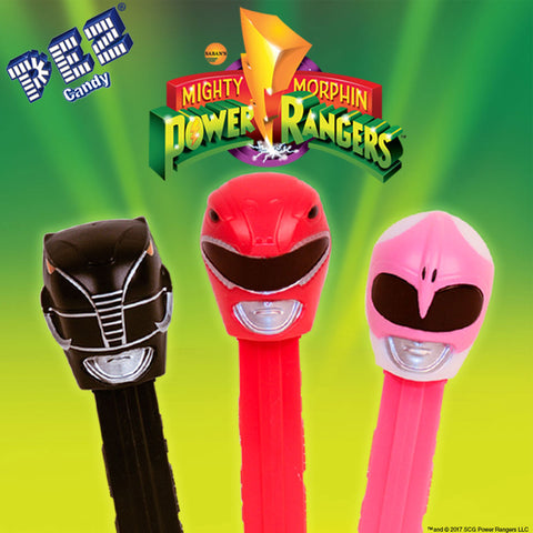 Mighty Morphin' Power Rangers PEZ® (Poly Bags)