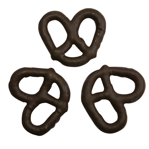 Chocolate Dipped Pretzels Dark