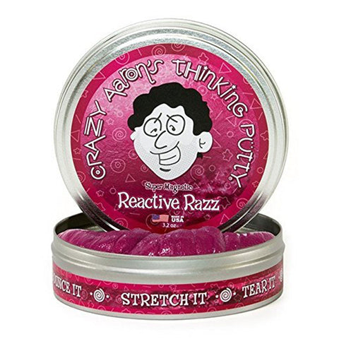 Magnetic Thinking Putty® Reactive Razz w/ Magnet
