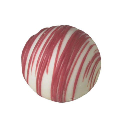 Large White Red Velvet Cake Truffle