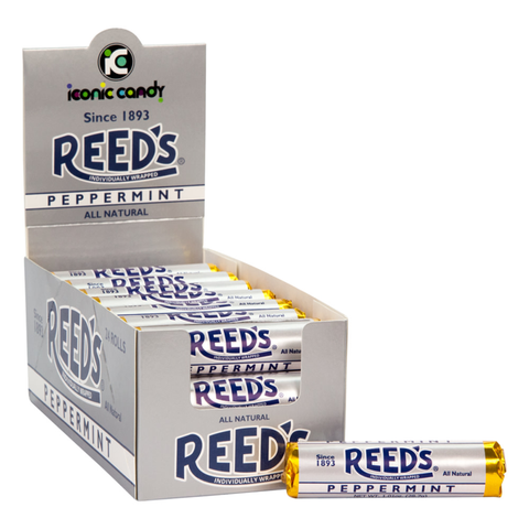 Reed's® Individually Wrapped - Peppermint 1.01 oz. Rolls