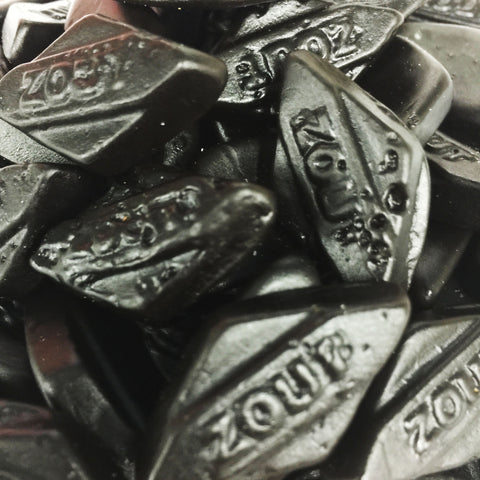 Dutch Licorice Salty Diamonds