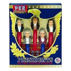 Pez® Presidents Vol. I: 1789-1825