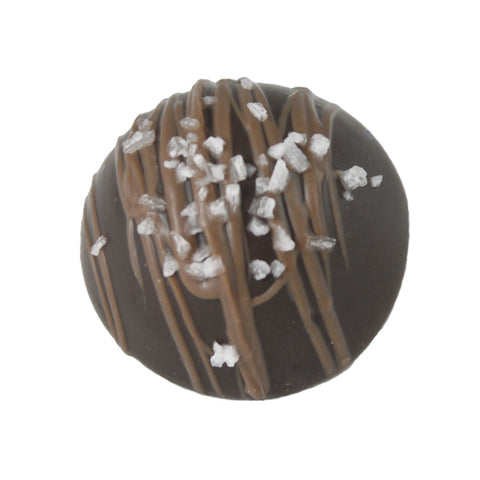 Dark Sea Salt Caramel Truffle