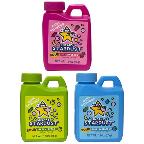 Sneaky Stardust® Gum Powder *Sour* - 1.94 oz.