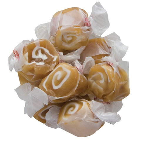 Caramel Swirl Taffy Kisses