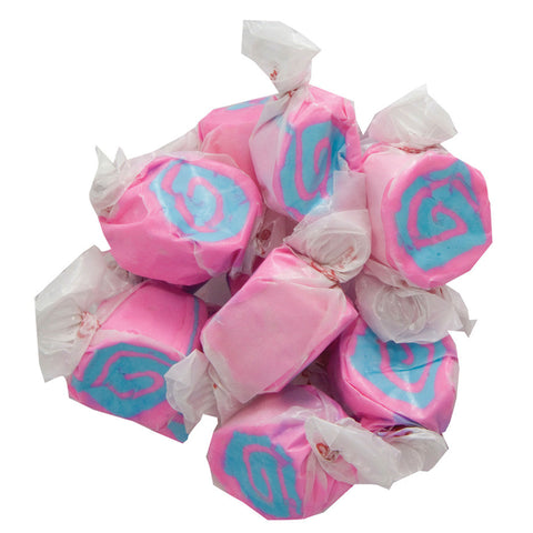 Cotton Candy Taffy Kisses