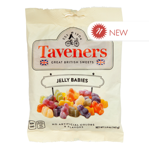 Taveners Jelly Babies 5.8 Oz. Peg Bag