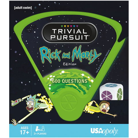 TRIVIAL PURSUIT®: Ricky and Morty™