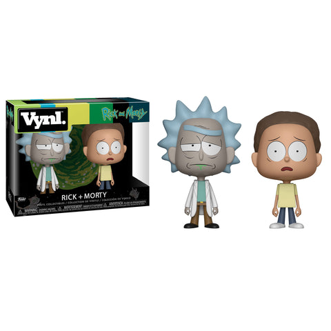 Funko Vynl: Rick and Morty - Rick + Morty