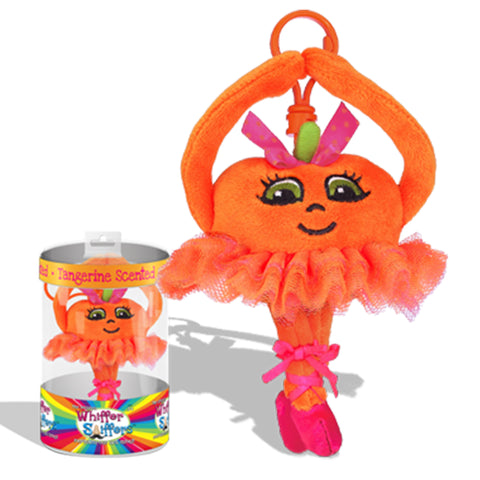 The Original Whiffer Sniffer™ - Tangerina Ballerina Backpack Clip