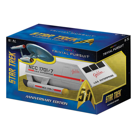 TRIVIAL PURSUIT®: Star Trek™ 50th Anniversary Edition