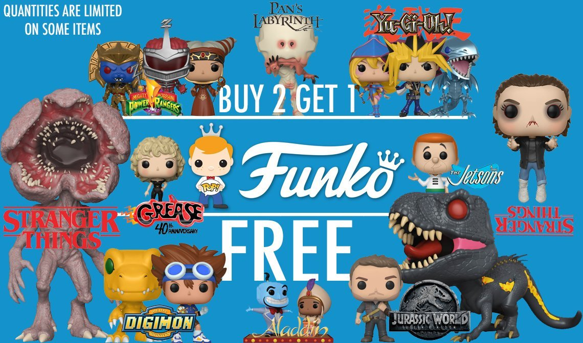 Funko Products are NOW IN STOCK!