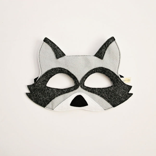 RACCOON- Mask, Tail, Paws